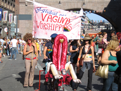 International network of vagina worshippers