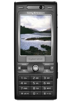SonyEricsson K800i, framsida