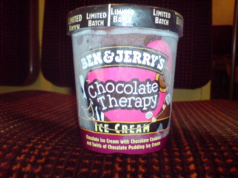 Chokladterapi från Ben & Jerry's
