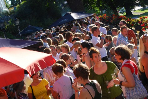 pre-pride-mingel på Skånska Gruvan