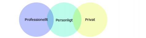 Professionellt, personligt, privat 2