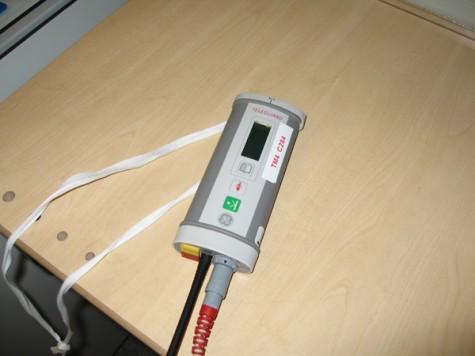 Telemetri-dosa för trådlös övervakning av EKG
