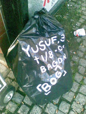 Yusuf, mördad i Bagdad. Brott: Homosexualitet.