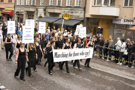 Marching for those who can't