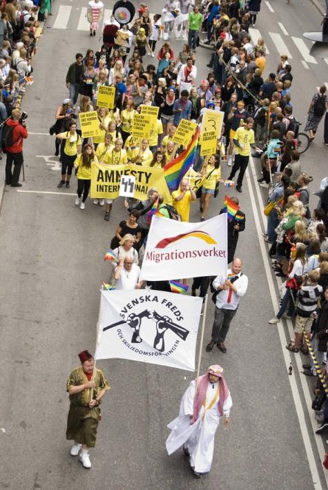 Migrationsverket i Prideparaden