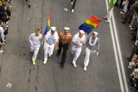 En kvintett av sjömän