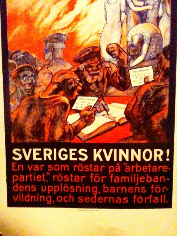 Valuppmaning till sveriges kvinnor