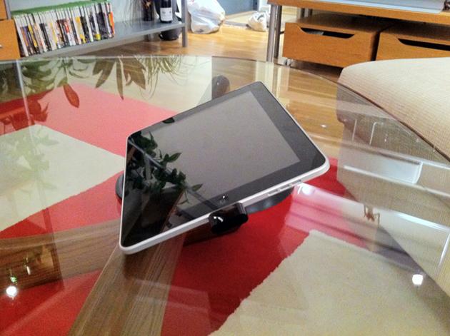 Smart soffbordsställ för iPad