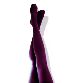 Lila strumpbyxor från Leglook