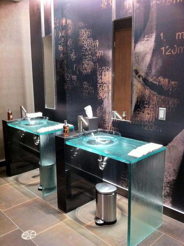 Toalett på Le Germain