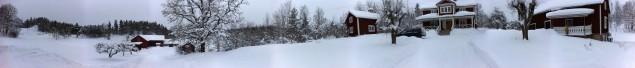 Ett 360-graderspanorama från Holmbo