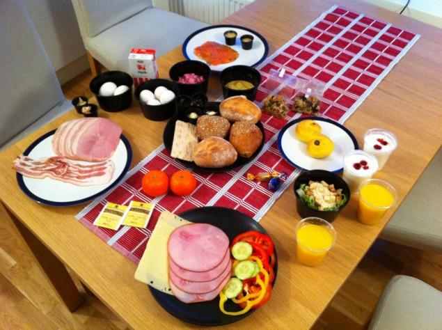 Brunch från Weekendfrukost