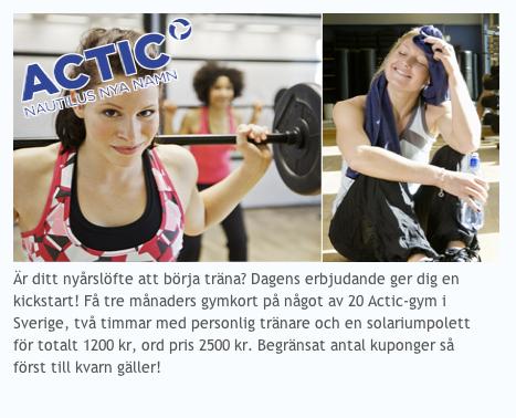 Actic-erbjudande hos Reco.se