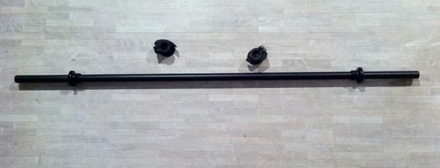 Bodypump-stång med två lås