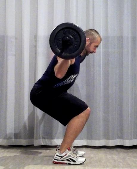 bodypump-teknik knäböj