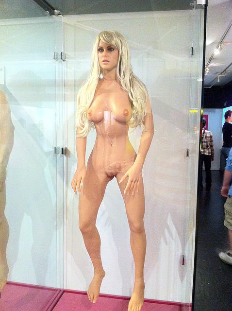 Udda sexdocka på Sexmuseet i New York