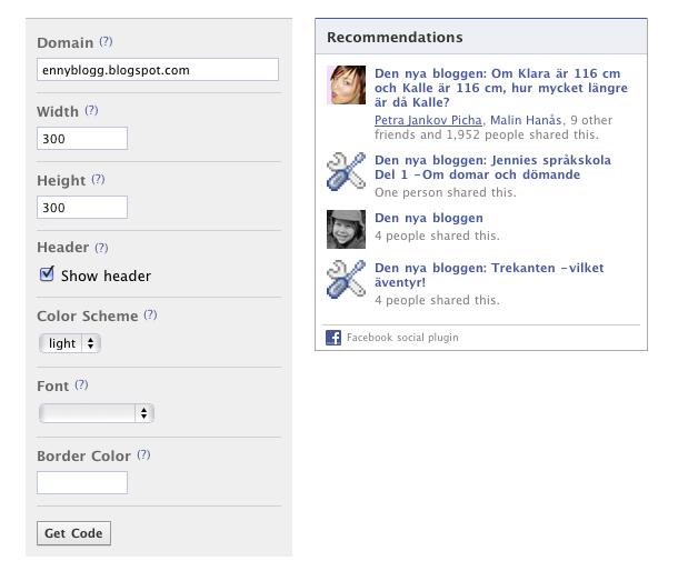 Facebook visar mig hur många gånger en sida delats även om jag inte äger sidan