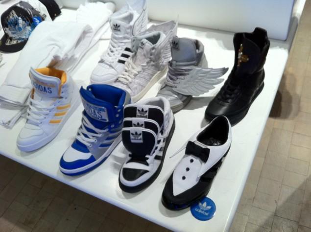 Udda skodesign av Adidas