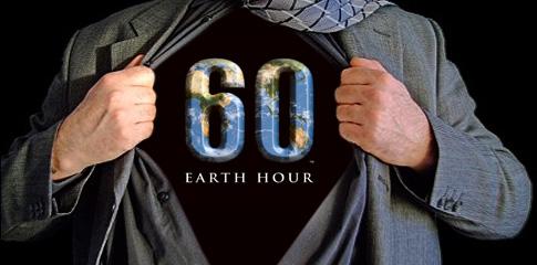 Earth Hour är skadligt för miljön