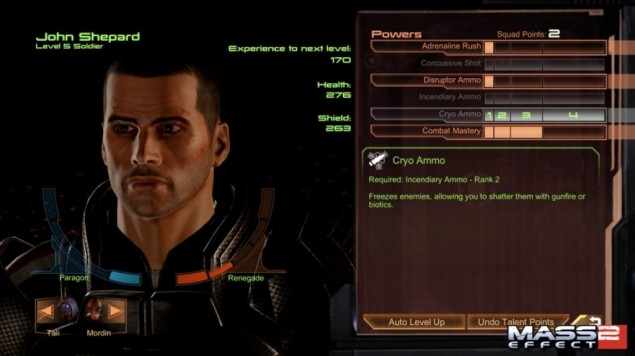 Screenshot från Mass Effect