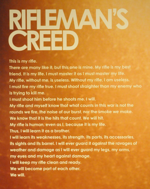 Rifleman's Creed