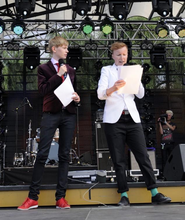 Moa Svan och Petra Hammargren