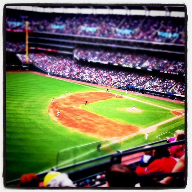 Mitt livs första baseball-match