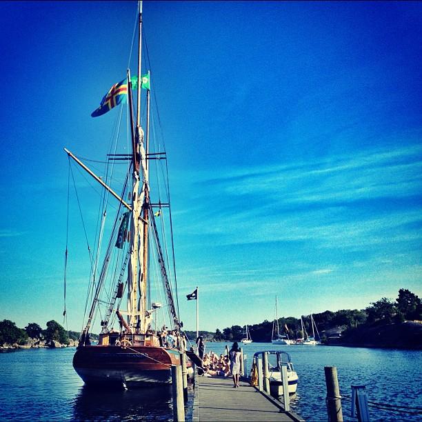 SSWC 2012: Albanus från Åland, aka PAFCharity-båten