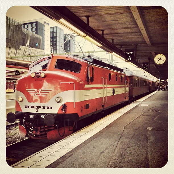 SSWC 2012: PR Newswire-tåget redo att lämna Stockholm C