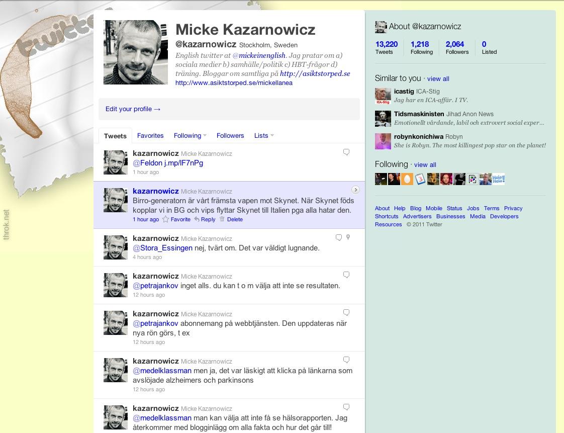Twitter-etikett: följa tillbaka eller inte?