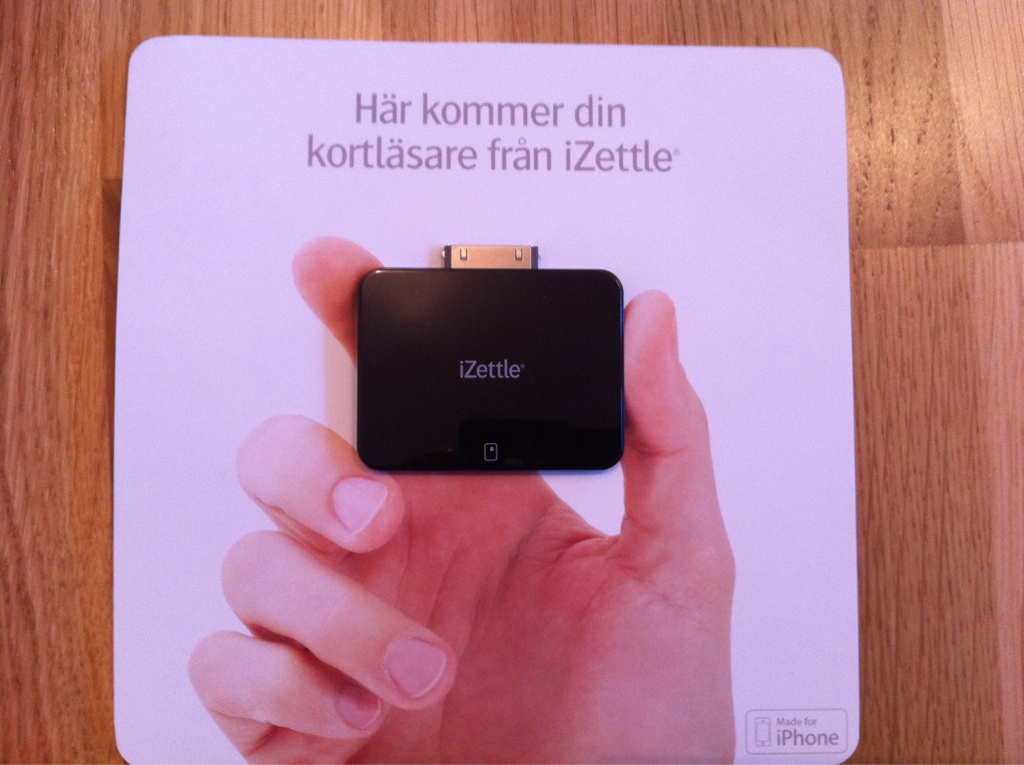 iZettle för iPhone